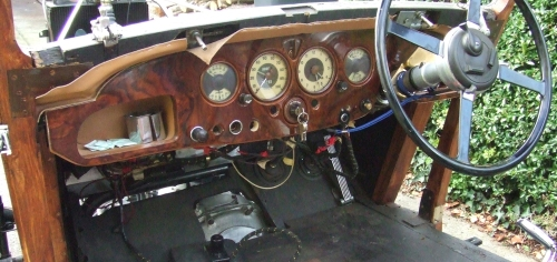 Instruments and dash board refurbished