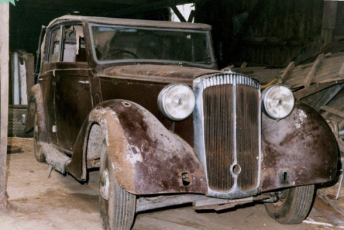 1939 Salmon's bodied cabriolet