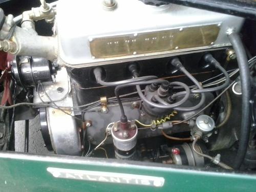 4 cylinder ohv engine .